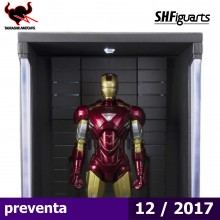 Iron Man Mark VI and Hall of Armor Set - S.H.Figuarts