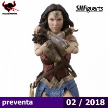 Wonder Woman - Justice League- S.H Figuarts