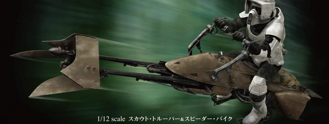 Bandai Hobby Star Wars 1/12 Scout Trooper & Speeder Bike