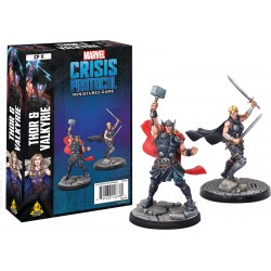 Marvel Crisis Protocol Thor and Valkyrie Character
