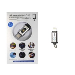 Linterna Sanitizadora - UVC LED Lightning