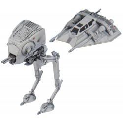 VEHICLE MODEL 008 AT-ST & SNOWSPEEDER