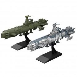 MECHA COLLECTION Guyzengun weapons group. Karakrum-class Combatant ship Two-ship set