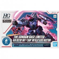 "HG 1/144 THE GUNDAM BASE LIMITED BLUE DESTINY UNIT 1 ""EXAM"" [METALLIC GLOSS INJECTION]"