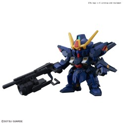 SD GUNDAM CROSS SILHOUETTE SISQUIEDE(TITANS COLORS)