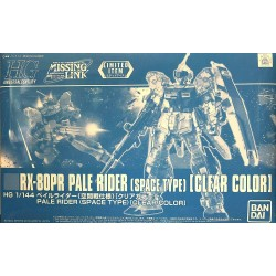 HG 1/144 PALE RIDER(SPACE TYPE)[CLEAR COLOR]