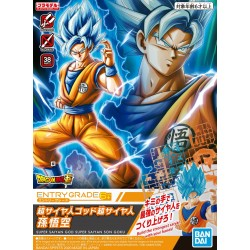 ENTRY GRADE -  Super Saiyan God Super Saiyan Son Goku