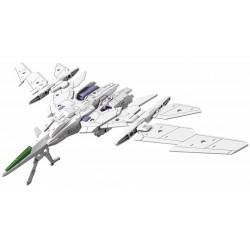 30Mm 1/144 Extended Armament Vehicle (Air Fighter Ver.)[White]