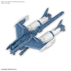 30MM 1/144 Extended Armament Vehicle (ATTACK SUBMARINE Ver.)[BLUE GRAY]