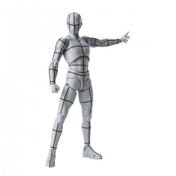 S.H.Figuarts - BODY KUN -WIREFRAME- (Gray Color Ver.)
