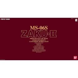 PG  1/60 Ms-06S Zaku II