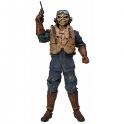 """Iron Maiden - 8"""" Clothed Action Figure - Aces High Eddie"""