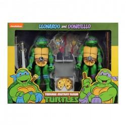 TMNT - Figure Cartoon Series 2 Leonardo and Donatello 2 pack