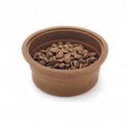 Plato silicona café